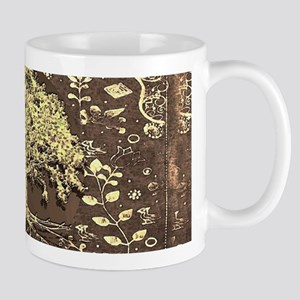Tree of Life Fall Rustic Vintage Mugs